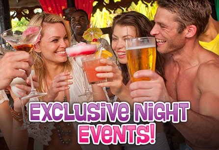 Exclusive Night Events, Group of friends having drinks