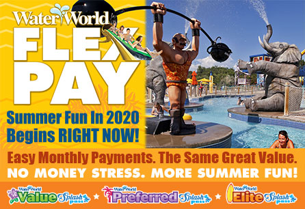 No Stress. More Summer Fun! | Home Page Link Featured Image | Water World Colorado
