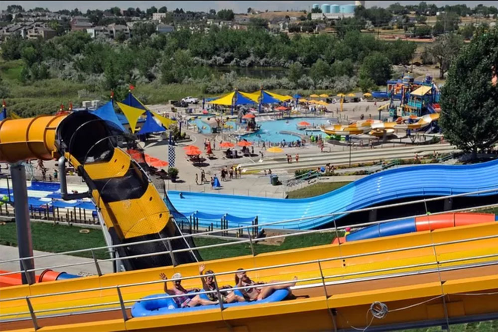 Mile High Flyer attraction, Water World