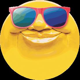 Sun Face | Footer Area