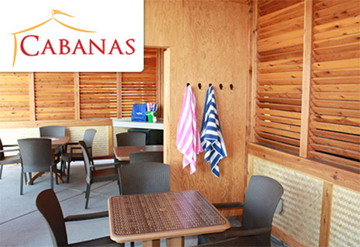 Reserve Your Cabana! | Home Page Link Featured Image | Water World Colorado