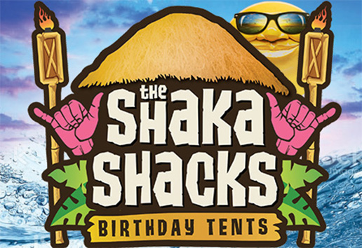 Shaka Shacks Birthday Tents! | Home Page Link Featured Image | Water World Colorado