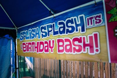 Birthday Shaka Shacks | Cabanas | Water World Colorado